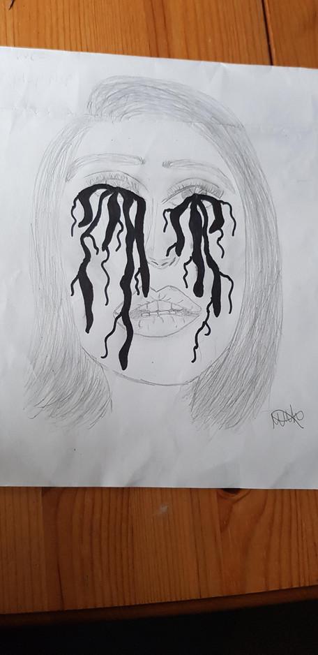 Millicent M-H Sketch