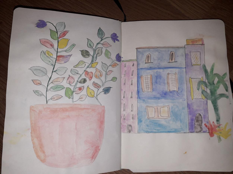 Mia M Sketchbook