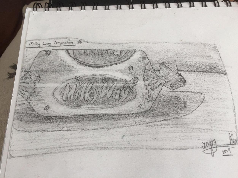 Connor V Sketchbook Drawing