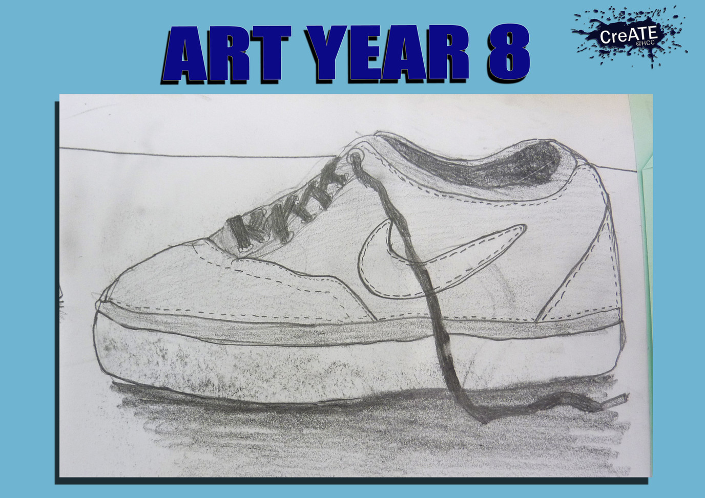 Year 8 Shoe Drawing