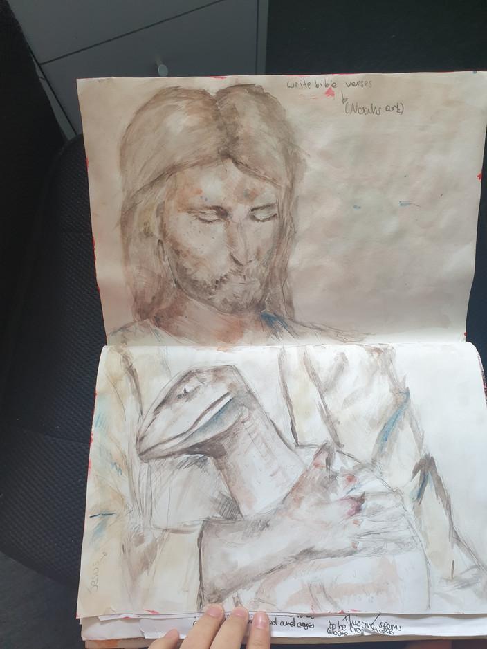 Reece C Sketchbook 4