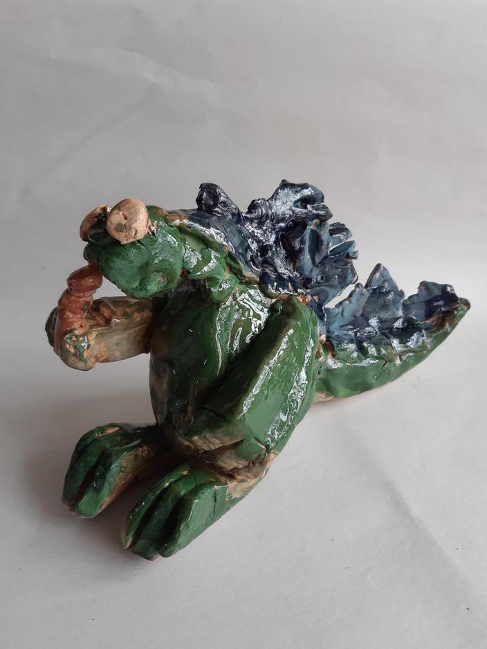 Jacob F Clay Figure