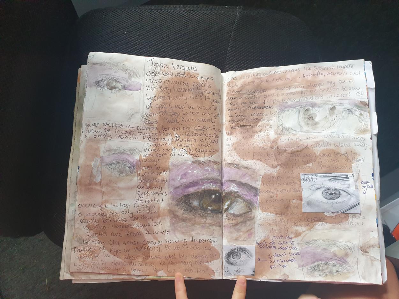 Reece C Sketchbook 3