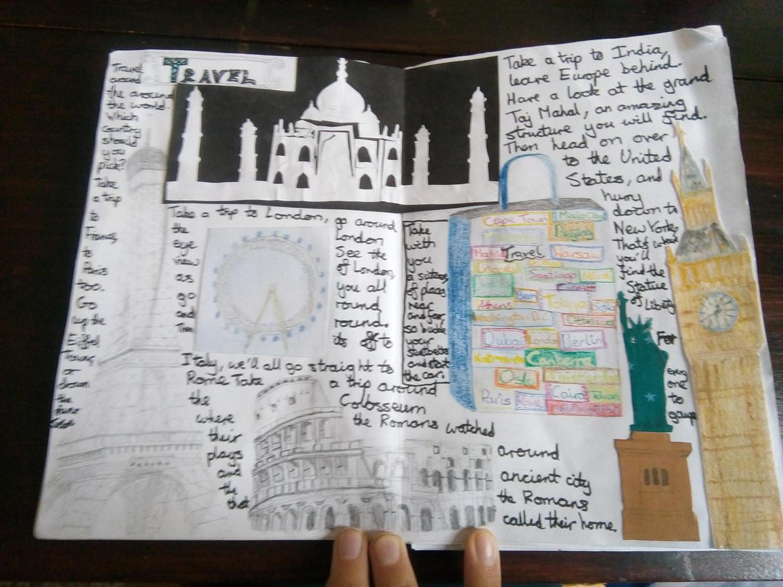 Hannah E Travel Sketchbook