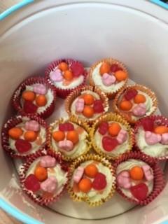 Tori S Perci Pig Cupcakes