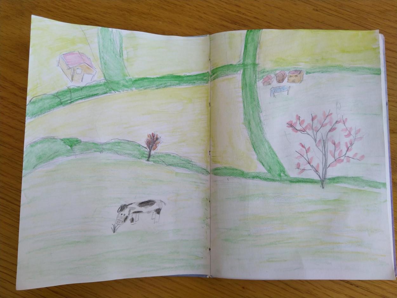 Izzy L Sketchbook 1