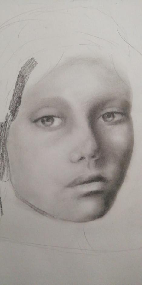 Els S Sketcbook Portrait in Progress