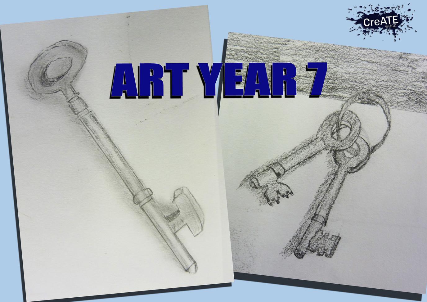 Year 7 Keys Sketches