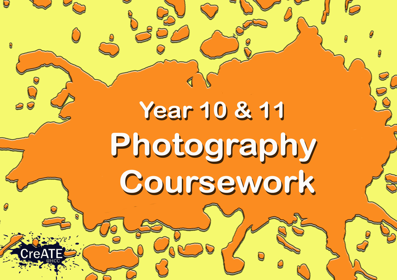 Year 10 & 11 Photgraphy Coursework