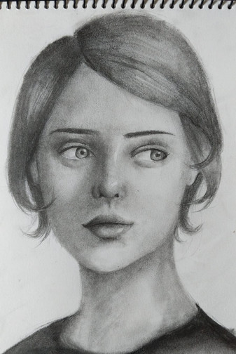 Year 9 Portrait by Els Summers