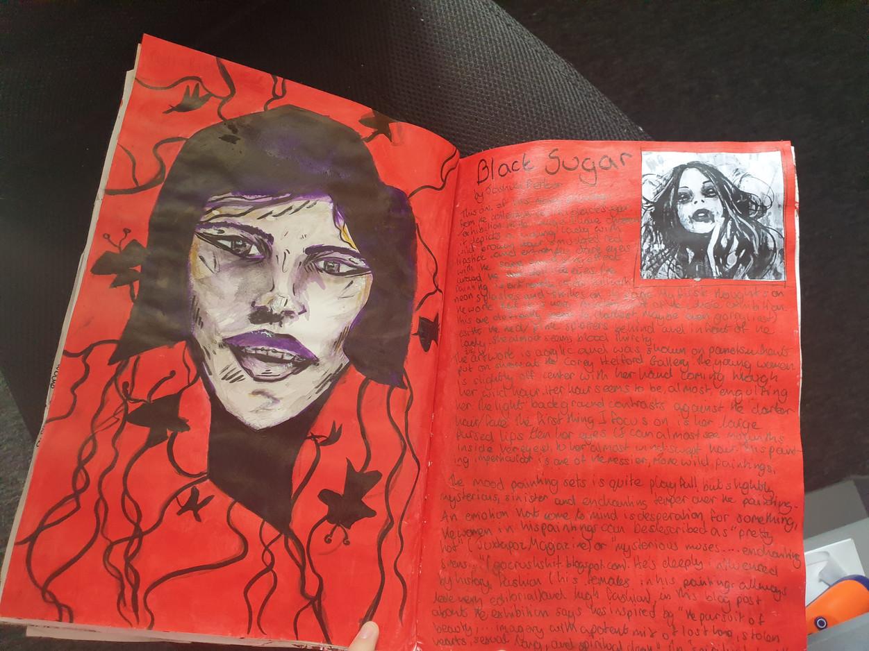 Reece C Sketchbook 1