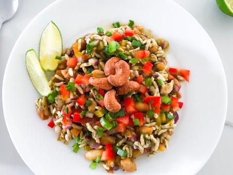 Puffed Rice Salad