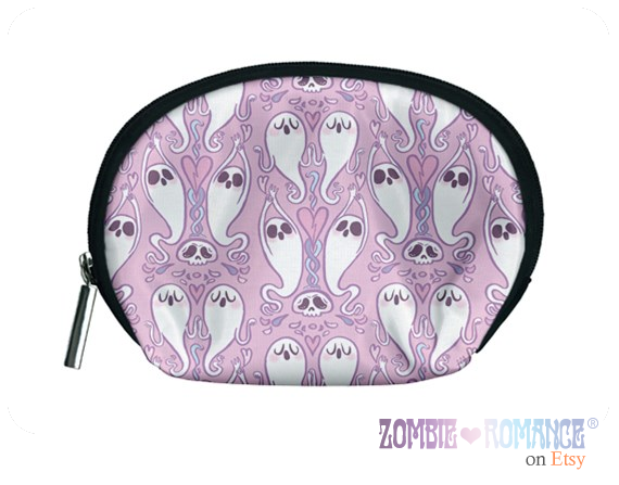 Seance Cosmetic Bag in Pink