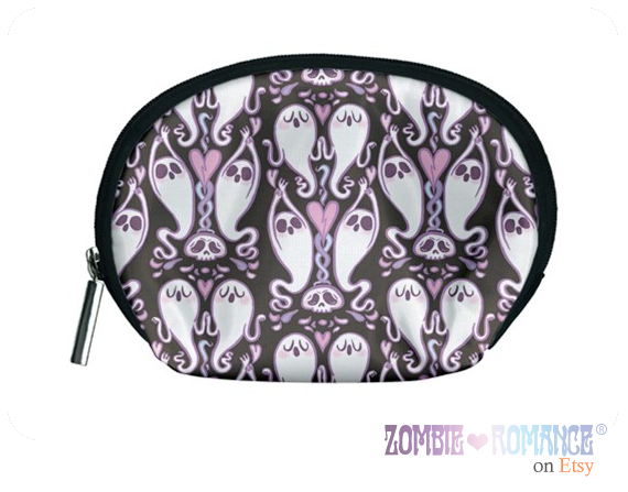 Seance Cosmetic Bag in Black