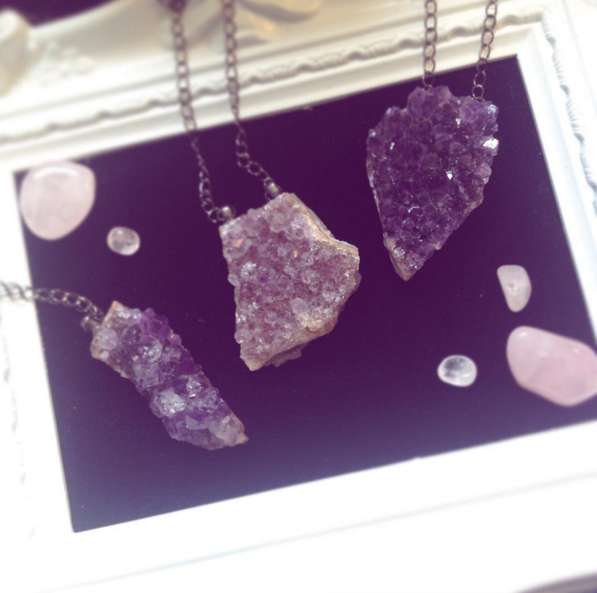 Magical Geode Necklaces
