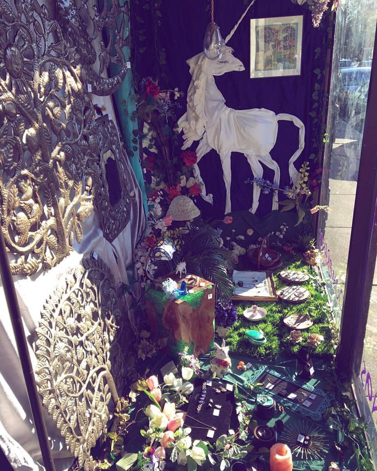 """Last Unicorn"" Window"