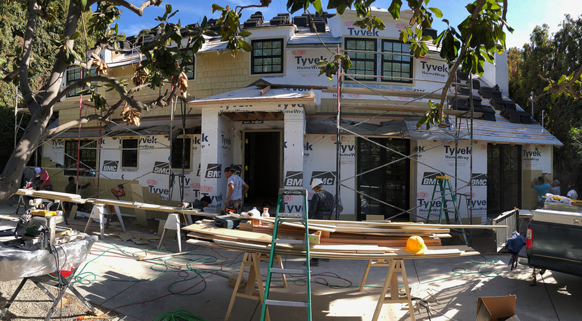 Before: Beverly Hills Room Addition
