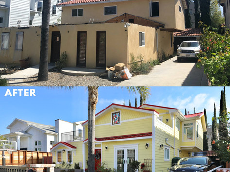 Sherman Oaks Exterior House Remodel: Before & After
