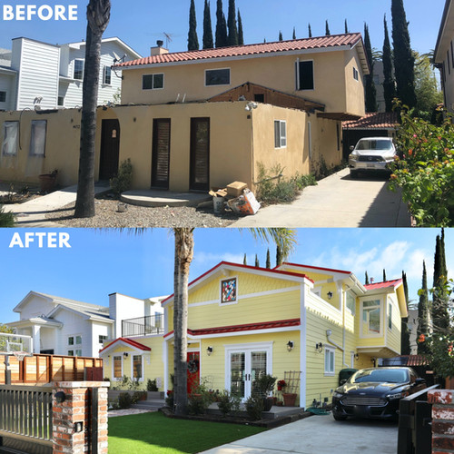 Los Angeles Exterior Home Remodel