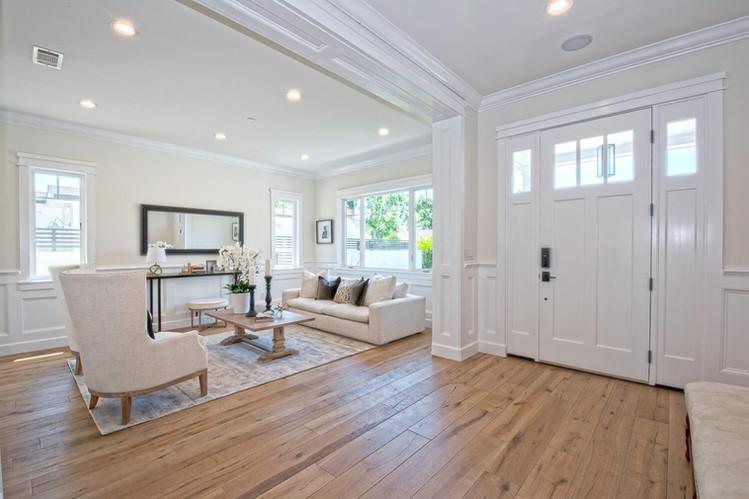 Custom Home Build Entryway