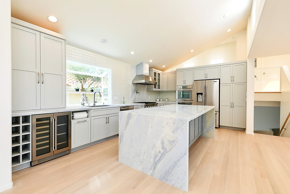 Gorgeous Gray Kitchen Remodel in South Bay, Los Angeles