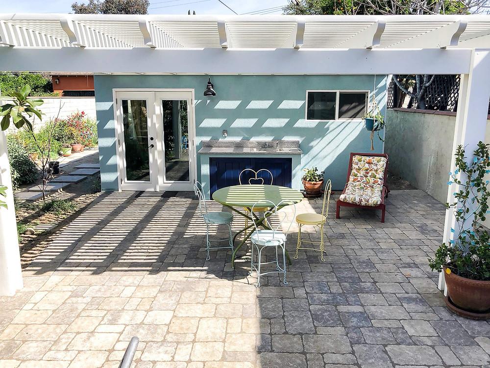 Backyard accessory dwelling unit ADU in Los Angles
