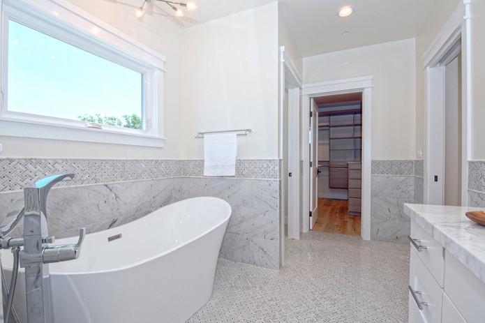 Luxury Bathroom Remodel with Soaking Tub