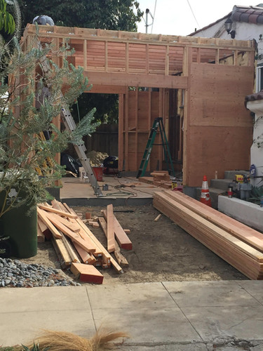 Before: Los Angles Garage Addition