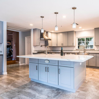 San Gabriel Gray & Taupe Kitchen Remodel