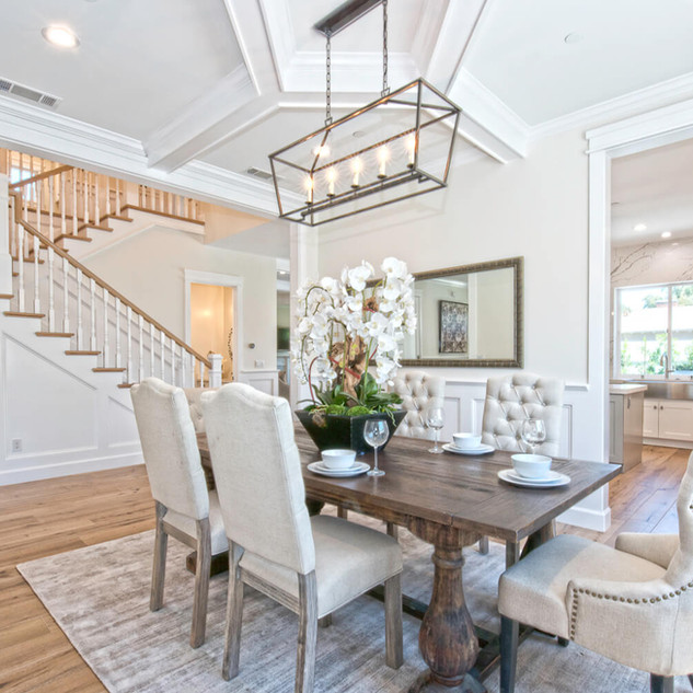 Custom Home Build - Luxe Dining Room