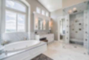Highland Park L.A. Marble Bathroom Remod