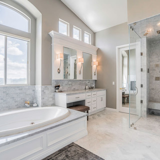 Highland Park, CA, Marble Bathroom Remodel