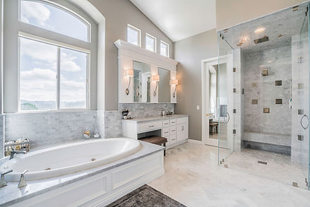 Highland Park L.A. Marble Bathroom Remod