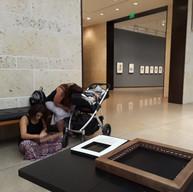 Art Cart visitors