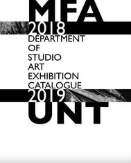 UNT MFA 2018-2019 Catalogue