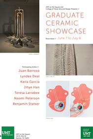 Graduate Ceramic Showcase