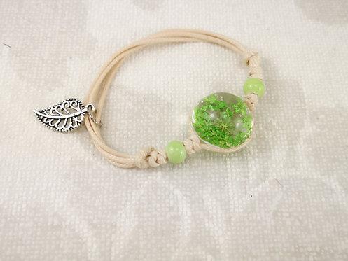 Armband Dill grün
