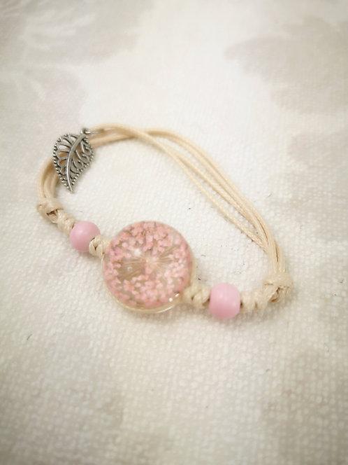 Armband Dill rosa