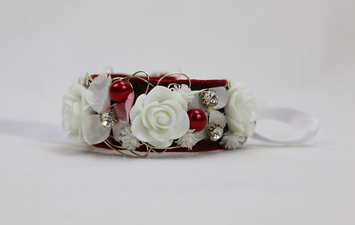 Armband rot- weiss