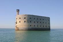Fort Boyard au large de la Rochelle