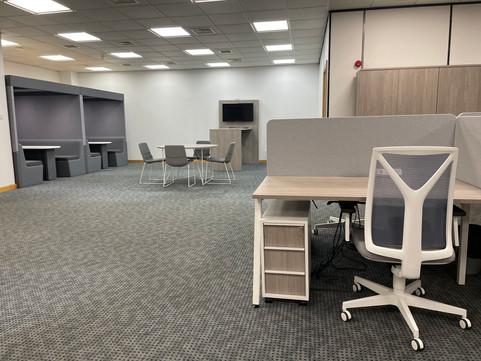 Collaborative Area & Desking