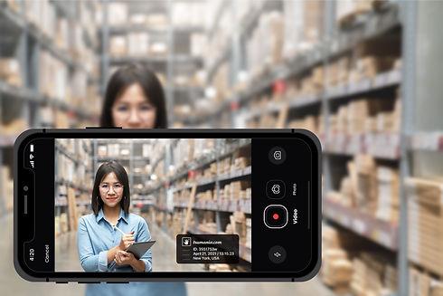 Merchandiser control mobile app Trumania