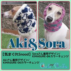 Akiさん&Soraさん