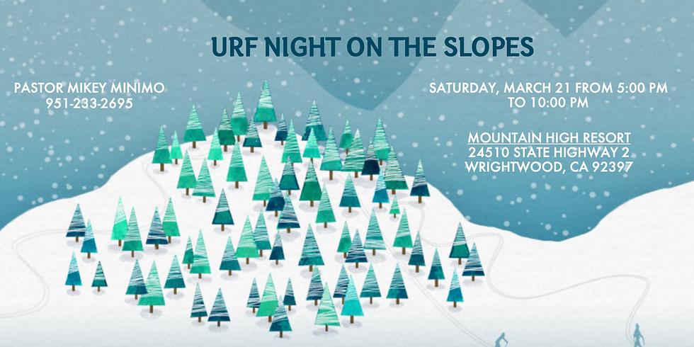 Night On The Slopes