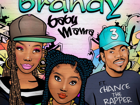 """Brandy Recruits Chance the Rapper for Vibrant """"Baby Mama"""" Video"""