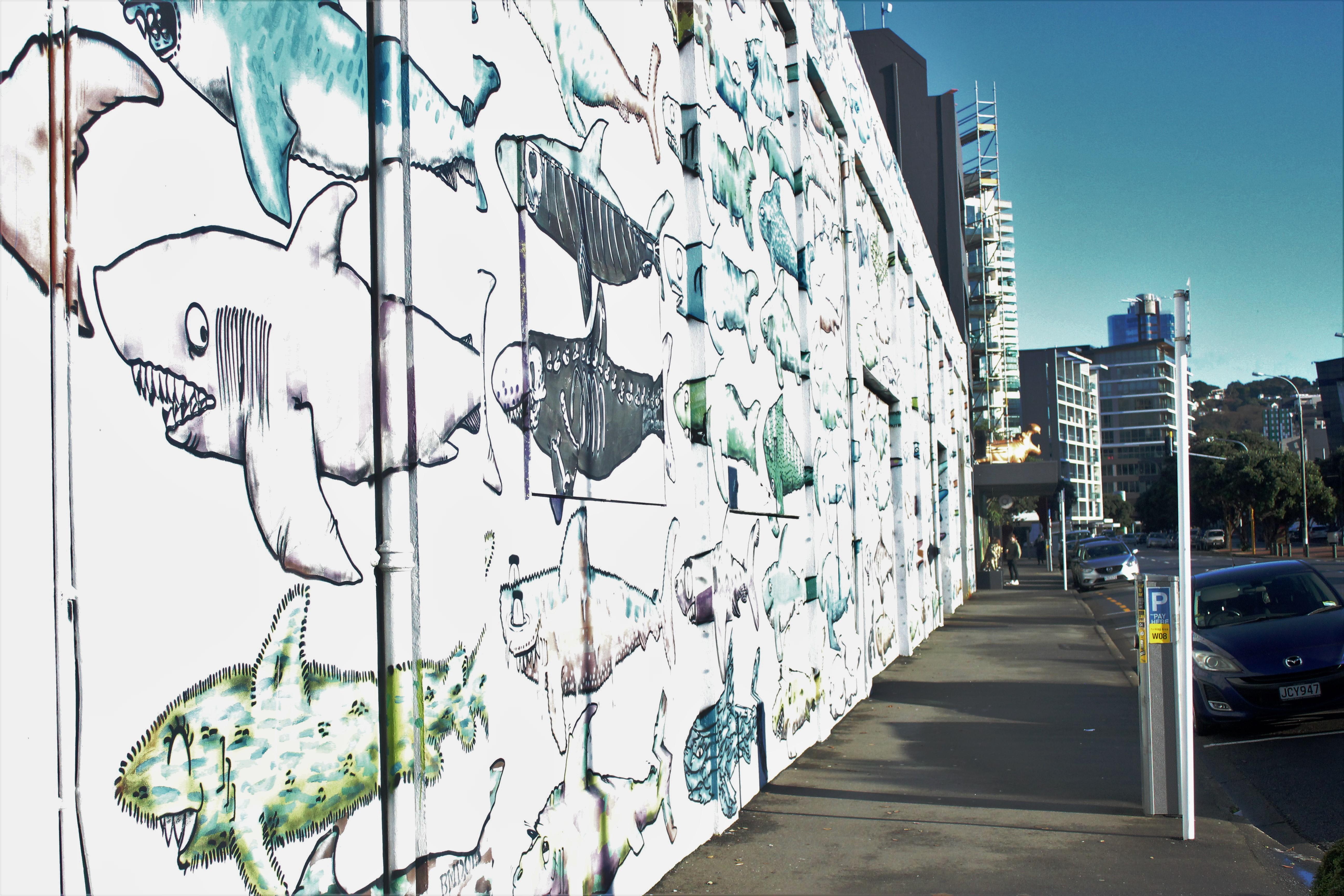 Shark Wall
