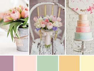 Popular Wedding Color Ideas for 2017. Wedding Palette
