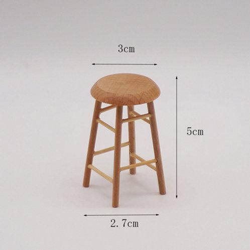 Wooden Stool (Straight)