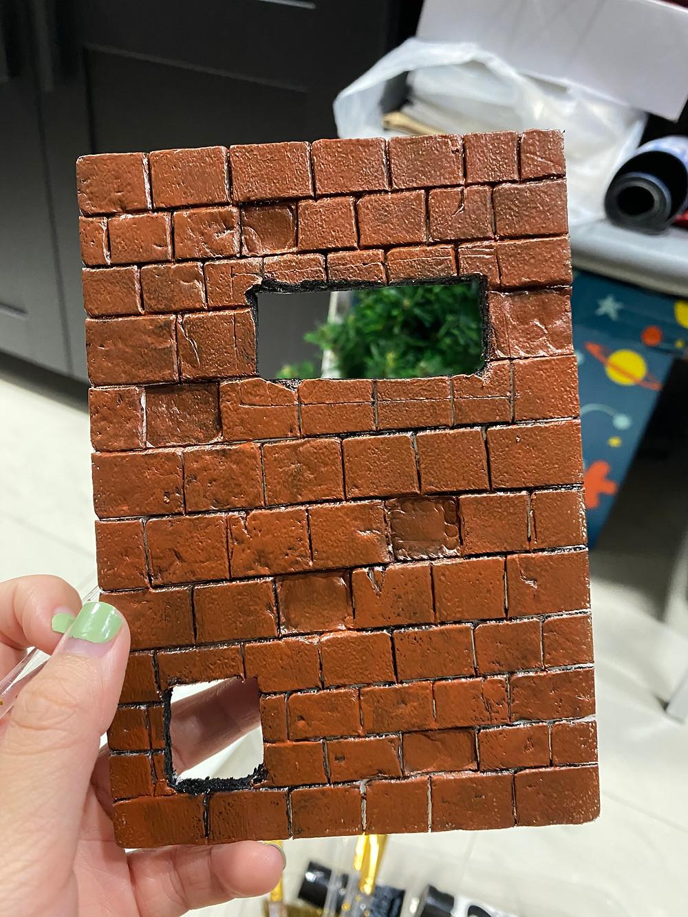 wall diorama prototype