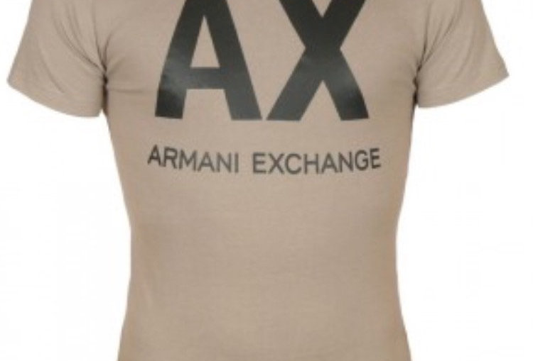 ARMANI FRONT LOGO MEN T-SHIRT